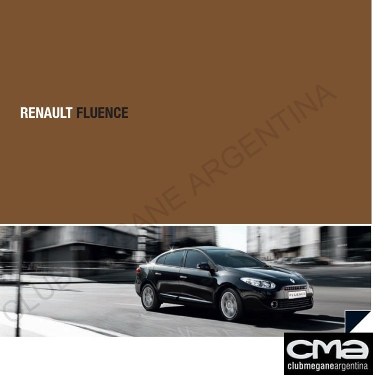 Manual de Usuario - Renault Fluence
